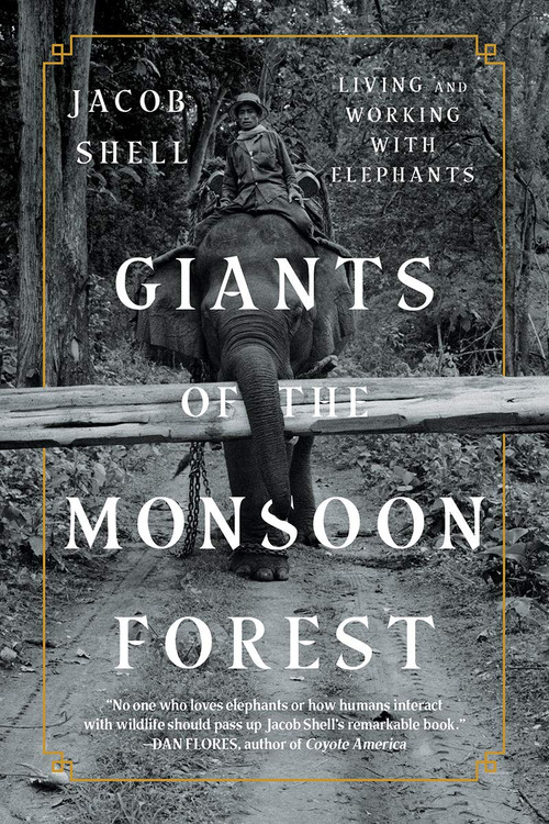 Giants of the Monsoon Forest: Living and Working with Elephants Paperback  by Jacob Shell  (Author)