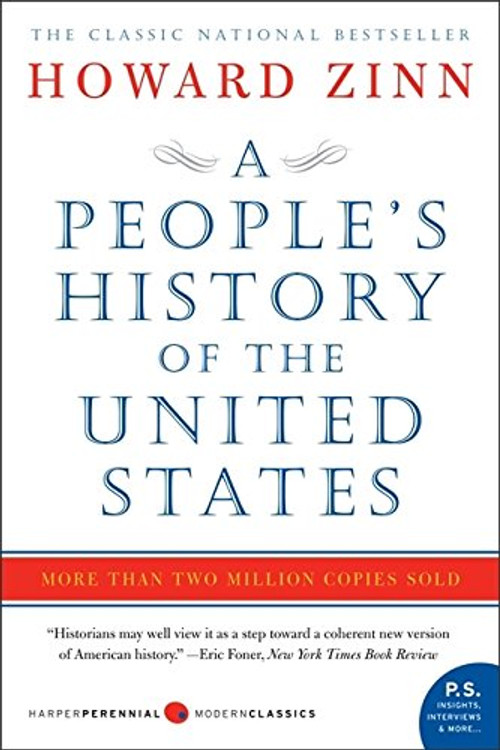 A People's History of the United States Paperback by Howard Zinn