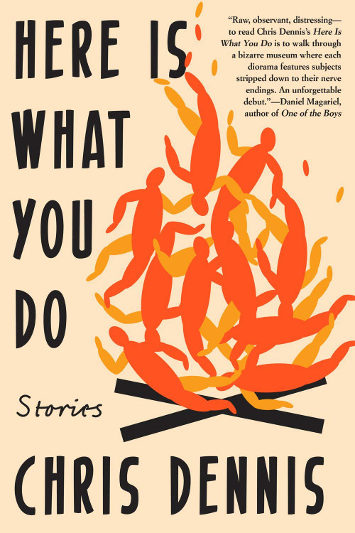 Here Is What You Do: Stories Paperback – June 25, 2019 by Chris Dennis  (Author)
