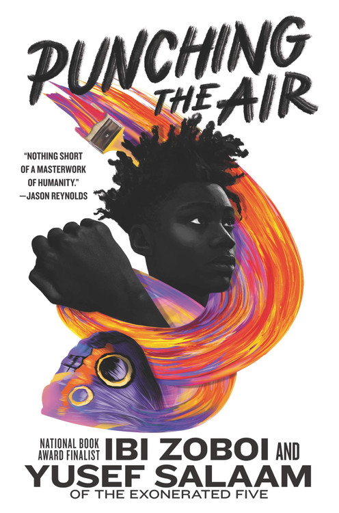 Punching the Air Hardcover – Illustrated, September 1, 2020 by Ibi Zoboi  (Author), Yusef Salaam (Author)