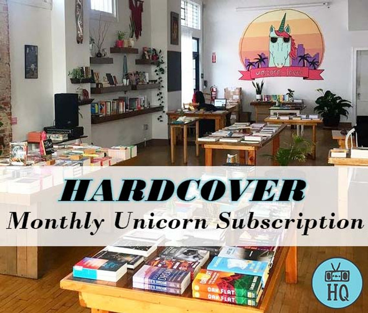 Two Dollar Radio Headquarters Monthly Unicorn Book Subscriptions New Hardcover