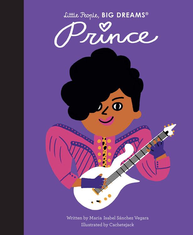 Prince (Little People, BIG DREAMS, 54) Hardcover – Illustrated, January 19, 2021 by Maria Isabel Sanchez Vegara  (Author), CACHETEJACK (Illustrator)