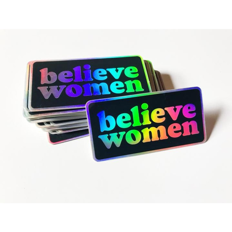 Sticker - Believe Women