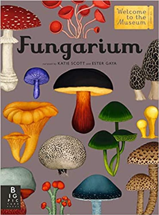 Fungarium, Ester Gaya (Author), Katie Scott (Illustrator)