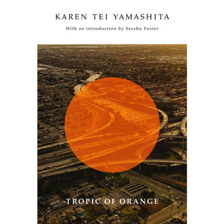 Tropic of Orange book cover