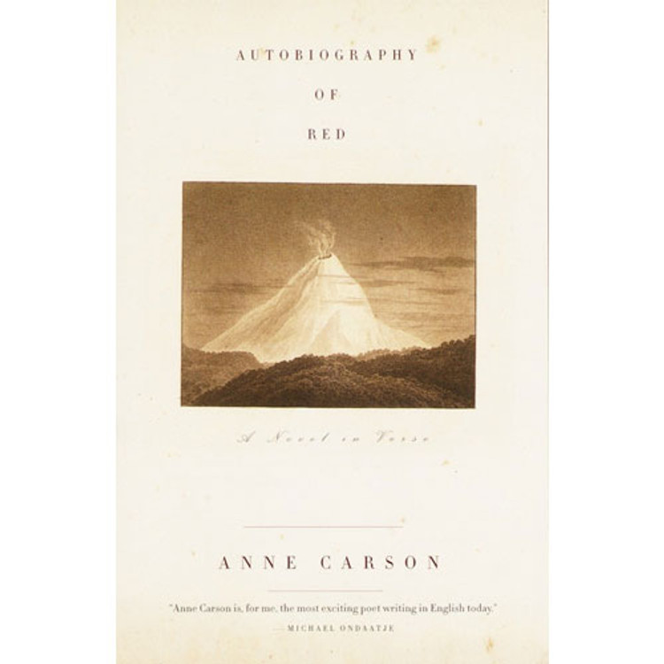 Autobiography of Red book cover