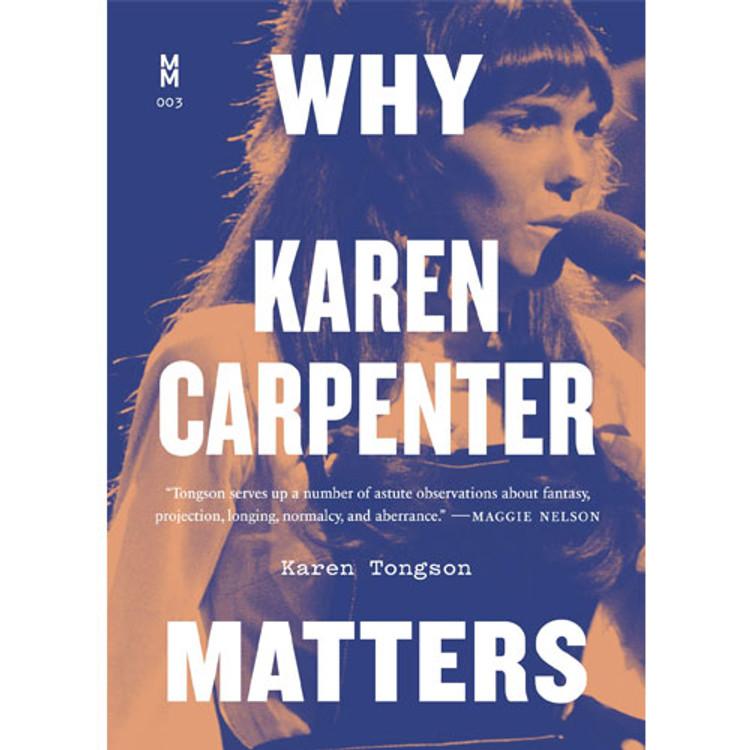 Why Karen Carpenter Matters book cover