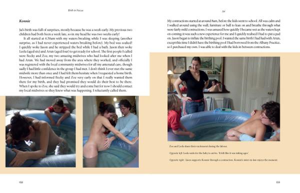 Birth in Focus - sample spread
