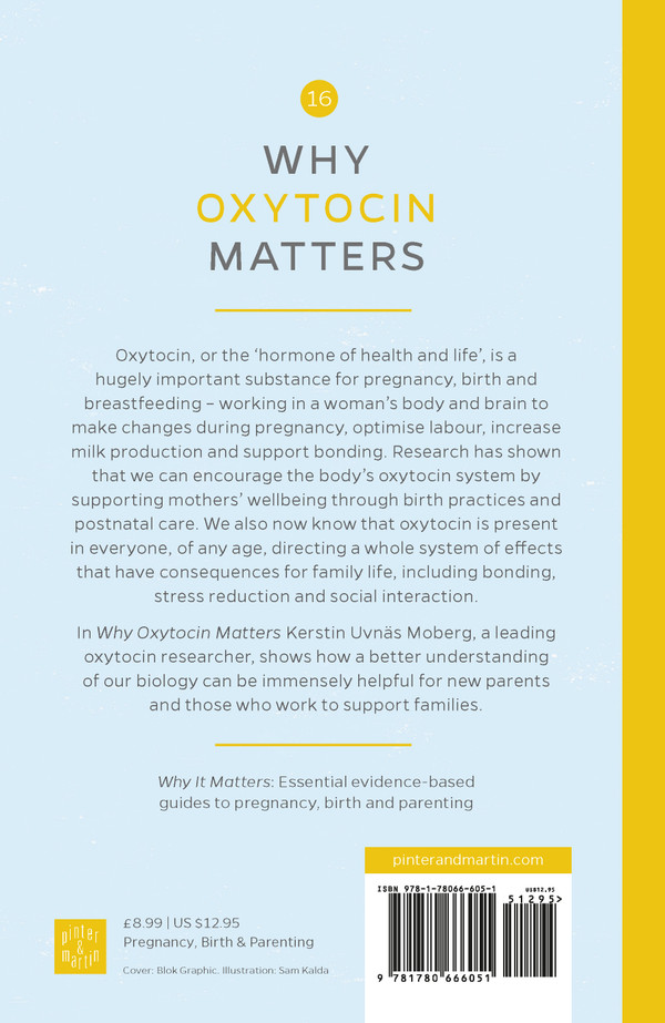 Why Oxytocin Matters back cover