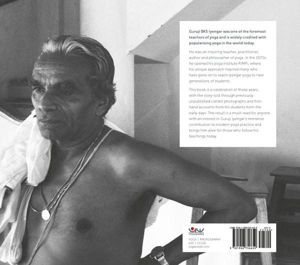 Guruji BKS Iyengar and his institute in the '70 - back cover