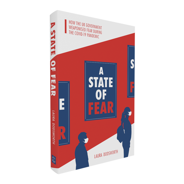 A State of Fear - front cover 3d