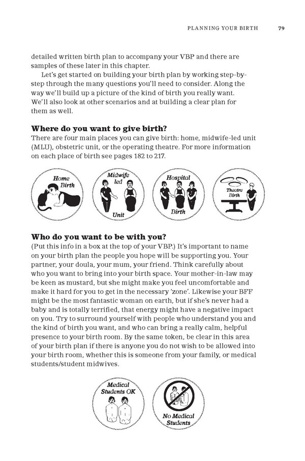 The Positive Birth Book - sample page
