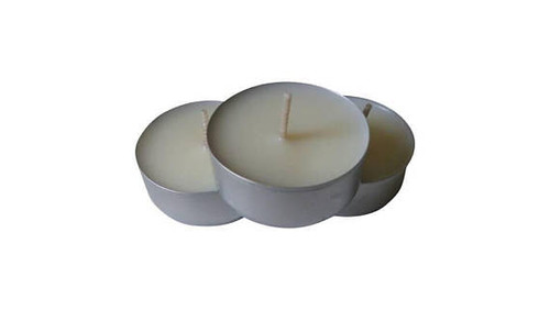 coconut wax tin tea light