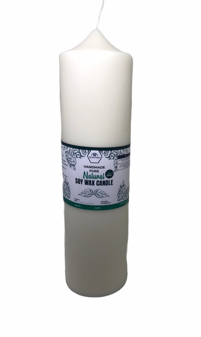 soy wax pillar candle 2.25 x 9