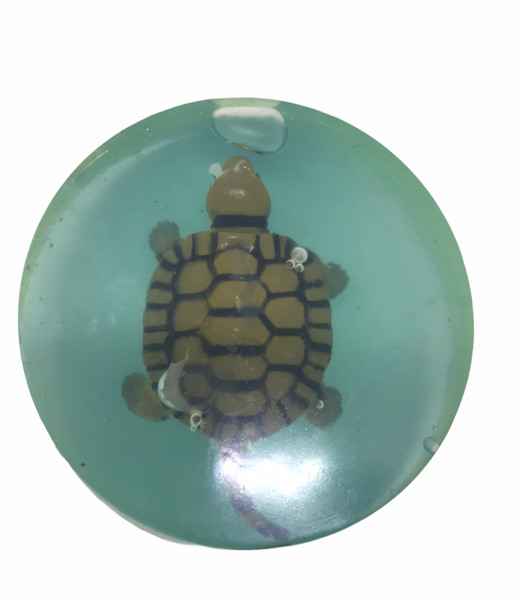 Kids Soap Clear Soap with Toy inside - Natural Turtle Mini Toys you Get 1 Bar