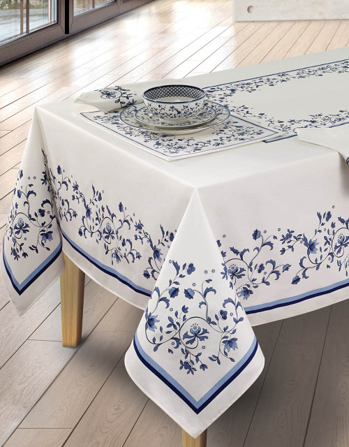 Spode Blue Portofino® Table Linens