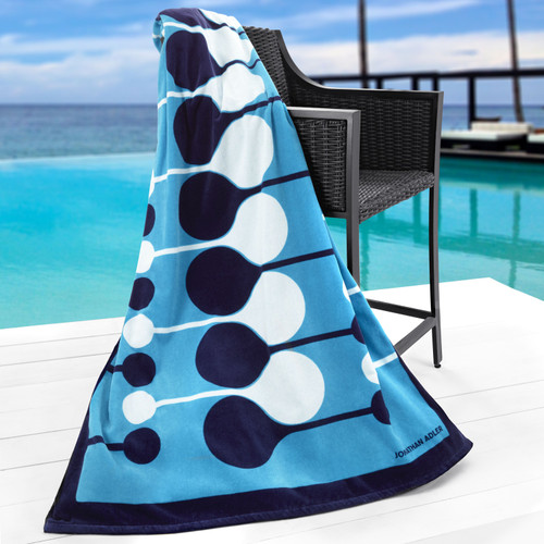 Jonathan Adler Collection Droplet Beach Towel