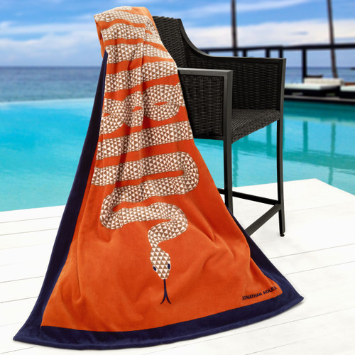 Jonathan Adler Collection Snake Beach Towel