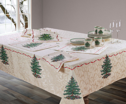 Spode Christmas Tree® Red Table Linens