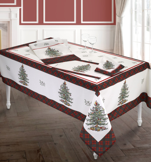 Spode Christmas Tree Tartan® Table Linens