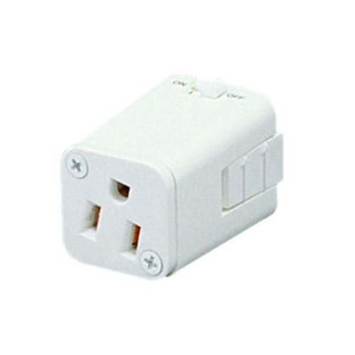 Grounded Receptacle for Track Lighting
