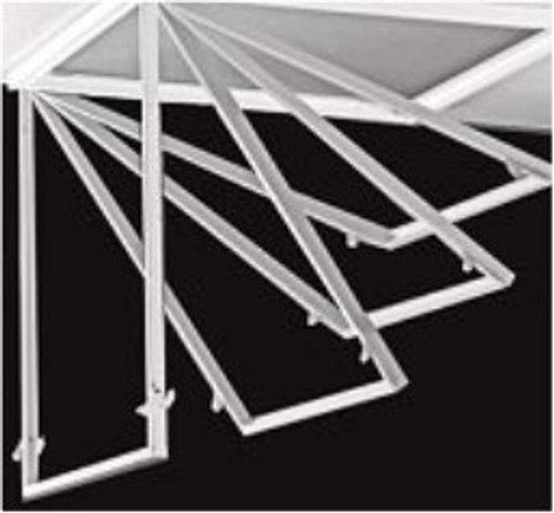 Troffer Retrofit Door Frame Assembly for 2x2 and 2x4 Fixtures