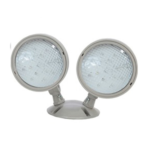 Double LED EM Wet Loc Remote Head 2x1W