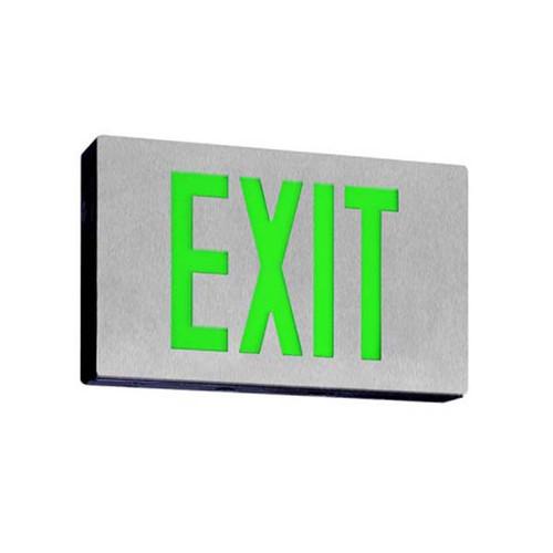 Low Profile Die Cast LED Single Face Exit Sign