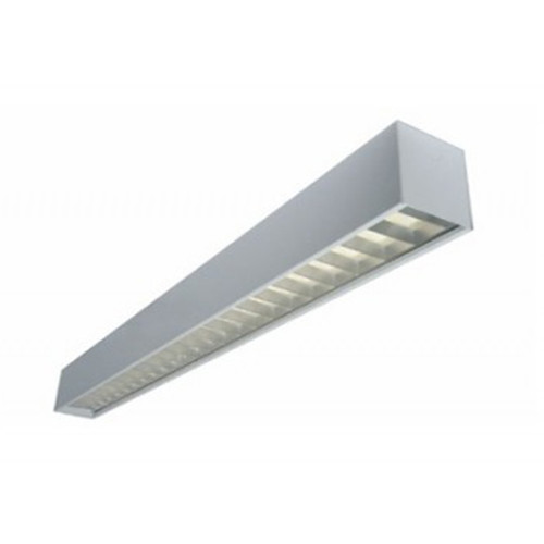 8-Foot 6x6 Linear Wall Fixture 4x18W X1 LED T8 Lamps Included