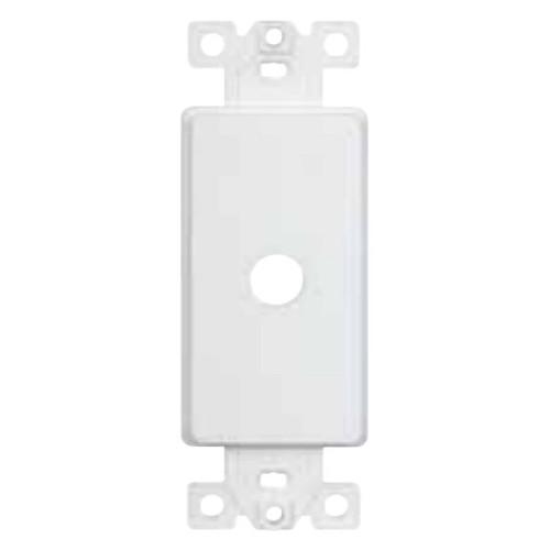 "Enerlites 1-Gang Decorator Plastic Shaft Adapter 0.406"" Dia. Hole"