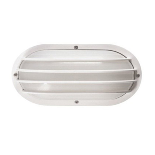 10.6 x 5.9 Euro Oval Wall or Ceiling Incand. Socket & LED Lamp