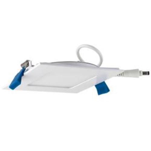 Sunlite 4-Inch Square 9 Watt Ultra Slim Downlight, Warm White