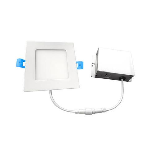 Euri Lighting 12W 6-Inch Recessed Slim Downlight (Directional) LED Retrofit Kit