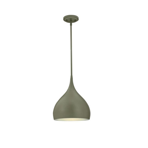 Westinghouse One-Light Indoor Pendant with Silver Interior