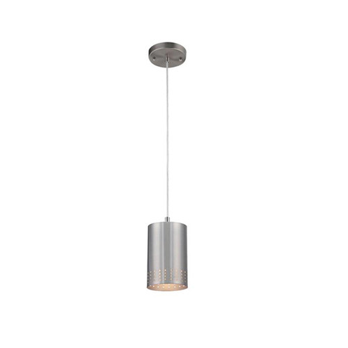 Westinghouse One-Light Adjustable Mini Pendant with Perforated Metal Shade