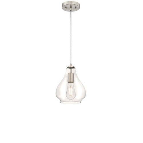 Westinghouse One-Light Indoor Mini Pendant with Clear Glass