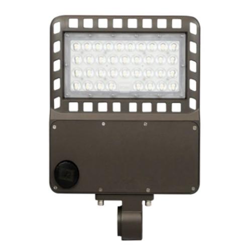 Falkor Lighting 100 Watt LED Area Light, Dark Bronze