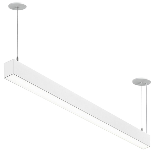 Linear Architectural Pendant, 8 Foot