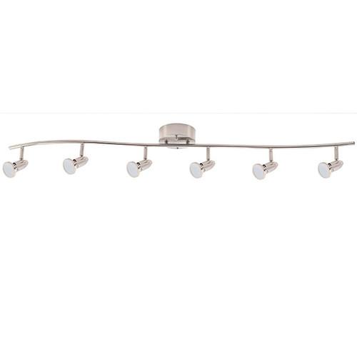 6 Head LED Light Bar 6x7W