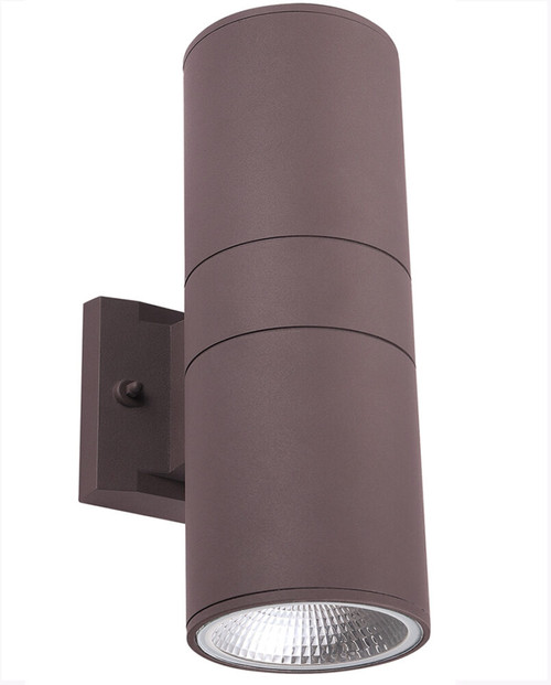 Cyber Tech 4-Inch 30W Round Up/Down LED Wall Sconce