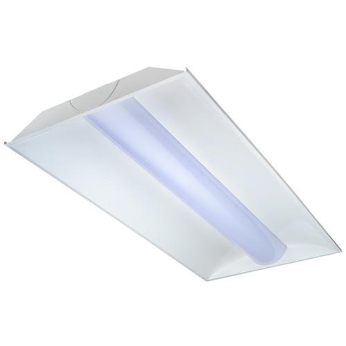 Topaz LED Lighting 2'x4' LED Volumetric Troffers CENTER BASKET