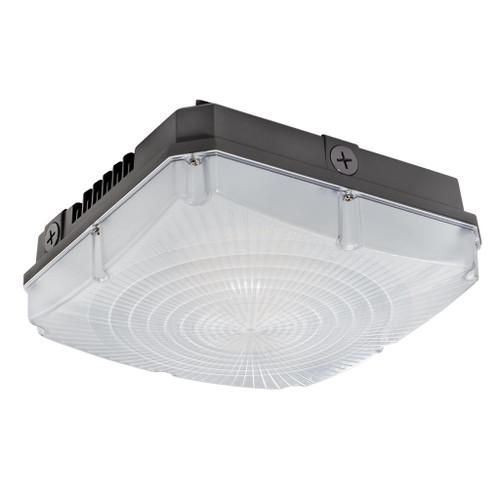 Topaz LED Lighting 40 Watt LED Canopy Luminaire - Square