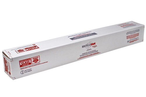 Small 4ft Fluorescent Lamp Recycling Box