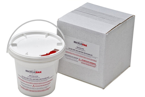2 Gal Sealed Lead Acid Battery Recycling Pail