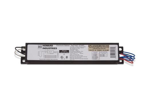 3 Lamp F32T8 Electronic Fluorescent Ballast - EPL3/32IS/MV/SC/HE