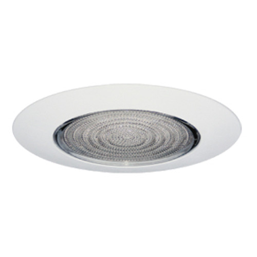 """6"""" Lexan Shower Fresnel Lens with Clear Reflector for Incandescent Recessed Lights"""