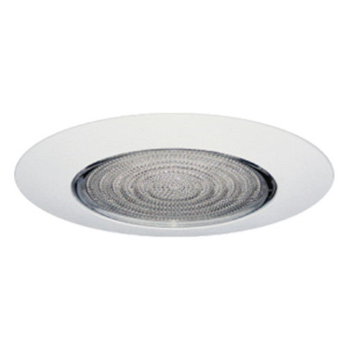 """6"""" Lexan Shower Fresnel Lens with Clear Reflector for CFL Recessed Lights"""