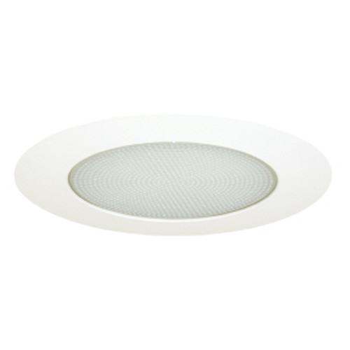 """6"""" Lexan Shower Albalite Lens with Clear Reflector for CFL Recessed Lights"""