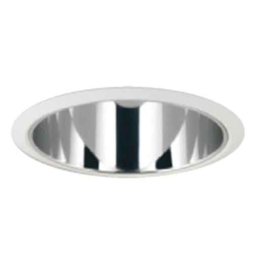 """6"""" Full Open Clear Reflector for HID and Incandescent Recessed Lights"""