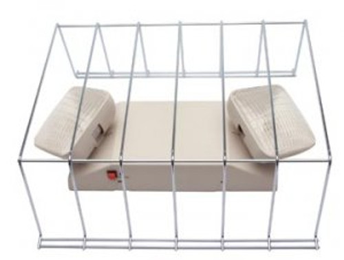 Wire Guard for Exit or Emergency Light Fixtures